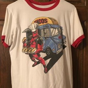 Tops - Deadpool shirt